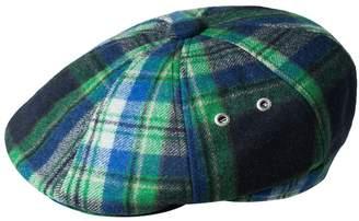 Kangol Men's Tartan Hawker Plaid Wool-Blend Flat Ivy Cap