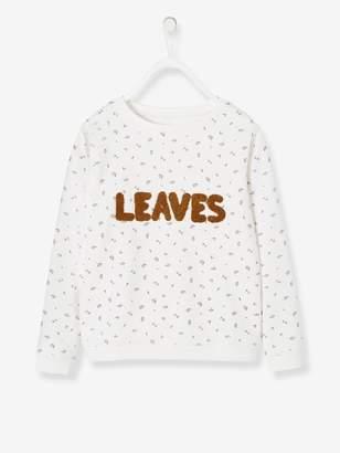 Vertbaudet Printed Sweatshirt for Girls