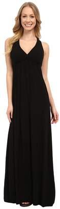 Hard Tail Twisty Back Maxi Dress Women's Clothing