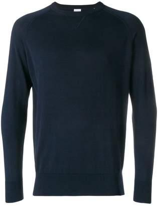 Aspesi round neck slim fit sweatshirt