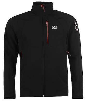 Millet Men W3 Pro Softshell Jacket Coat Top Breathable Warm Elastic Chest Pocket