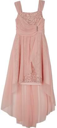 Amy Byer Iz Girls 7-16 IZ Sleeveless Empire Asymmetrical Dress