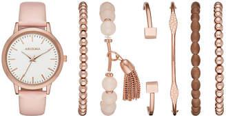 Arizona Womens Pink Watch Boxed Set-Fmdarz172