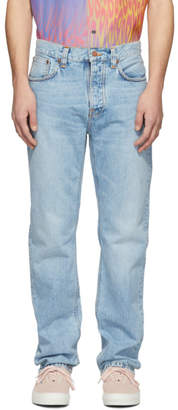 Nudie Jeans Blue Sleepy Sixten Jeans