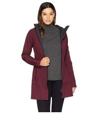 e7d23871d Ilse Jacobsen 3/4 Length Two-Tone Coat