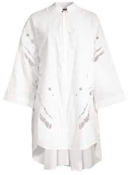 Romance Was Born Broderie Butterfly Shirtdress