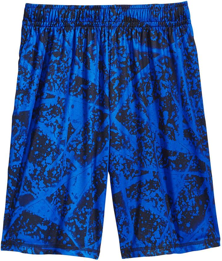 Ideology Splatter-Print Shorts, Big Boys, Created for Macy's