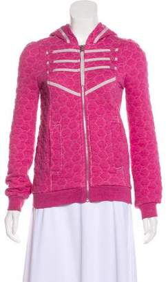 Marc by Marc Jacobs Hooded Zip-Up Jacket