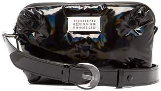 Maison Margiela Glam Slam Holographic Cross Body Bag - Womens - Black