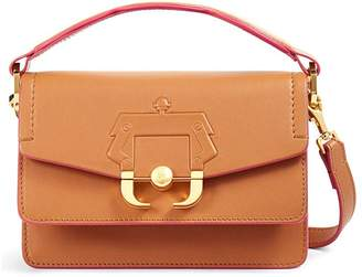 Paula Cademartori Twi Twi Leather Shoulder Bag