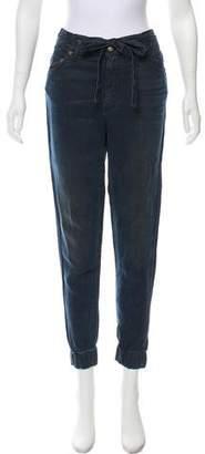 R 13 Mid-Rise Straight-Leg Pants