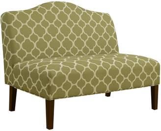Pulaski Trellis Armless Settee Loveseat Sofa