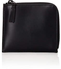 Comme des Garcons Men's Half-Zip Wallet - Black