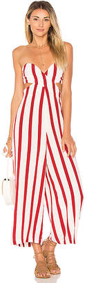 House of Harlow 1960 x REVOLVE Joelle Jumpsuit in Red $178 thestylecure.com