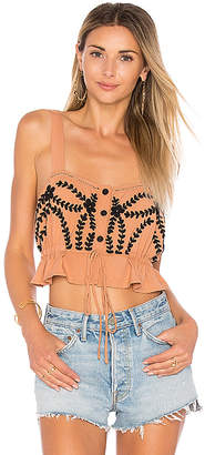 Cleobella Roya Top in Burnt Orange $139 thestylecure.com