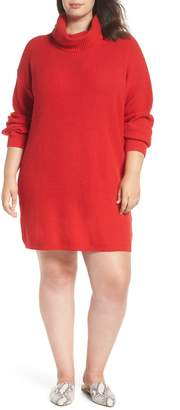 BP Turtleneck Sweater Dress