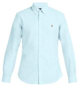 Polo Ralph Lauren Slim Fit Cotton Oxford Shirt - Mens - Light Blue