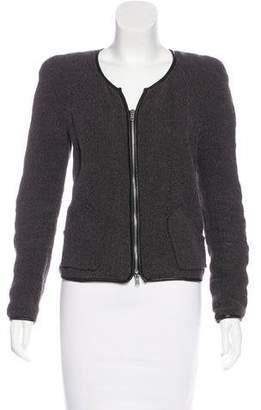 Isabel Marant Leather-Trimmed Lightweight Jacket