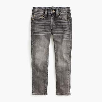 J.Crew Boys' concrete wash runaround jean in skinny fit