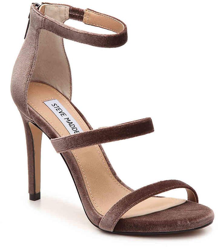 Steve Madden Women's Feelya Velvet Sandal