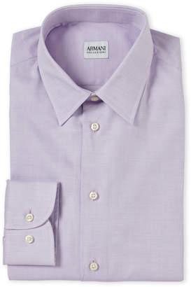 Armani Collezioni Lilac Dress Shirt