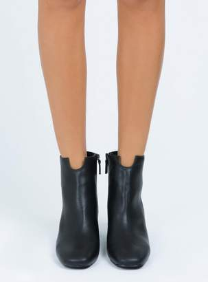 Therapy Black Cashion Boots