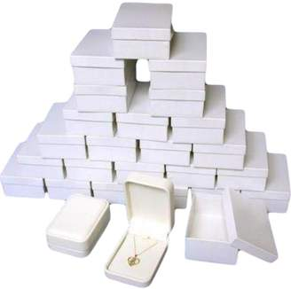 FindingKing 24 Diamond Pendant & Chain Gift Display Boxes
