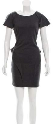Torn By Ronny Kobo Cap Sleeve Cutout Dress