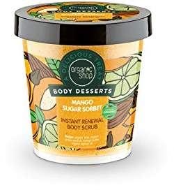 Sorbet Organic Shop Body desserts Mango Sugar Body Scrub 450ml