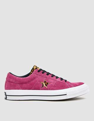 Converse One Star Varsity Remix Sneaker in Fuchsia