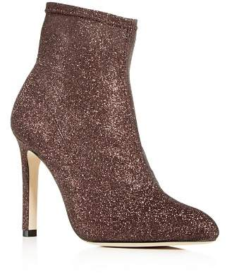 Sarah Jessica Parker Women's Apthorp Glitter Pointed Toe High-Heel Booties