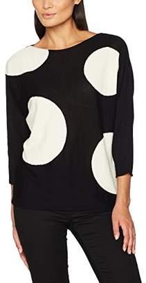 Laurèl Women's's Pullover Jumper, Multicolour (Black/Grey/offwhite 2900)