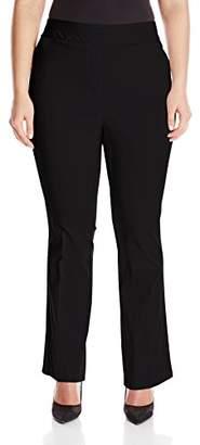 Briggs New York Women's Petite Super-Stretch Millennium Straight-Leg Pant