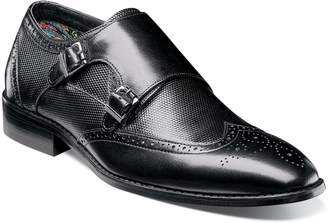 Stacy Adams Lavine Wingtip Monk Shoe