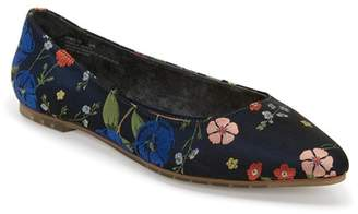 Me Too Aimee Floral Flat - Wide Width Available