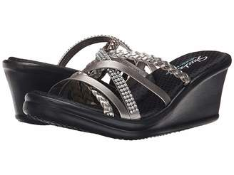 785176e28c28 Skechers Silver Women s Sandals on Sale - ShopStyle