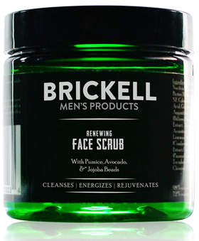 Brickell Men's Products Renewing Face Scrub, 4 oz./ 118 mL