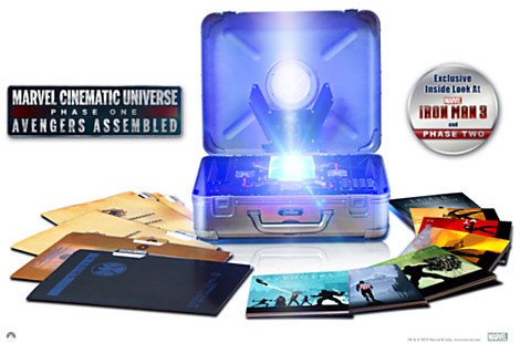 Disney Marvel's The Avengers Limited Edition Collector's Set - 10-Disc Set