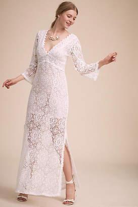 Anthropologie Rennel Wedding Guest Dress