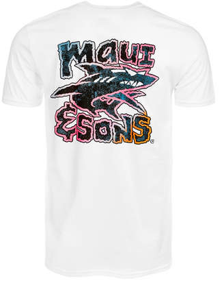 Maui and Sons Men's Neon Twist Graphic-Print T-Shirt