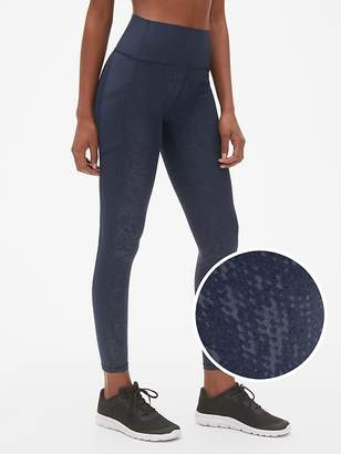 Gap GapFit High Rise Print Full Length Leggings in Sculpt Revolution