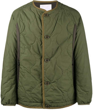 White Mountaineering Primaloft quilted jacket
