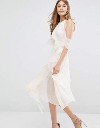 Keepsake Say You Will Cold Shoulder Dress $264 thestylecure.com