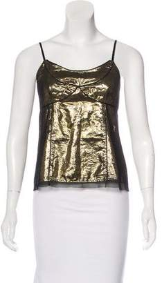Marc Jacobs Sleeveless Metallic Top