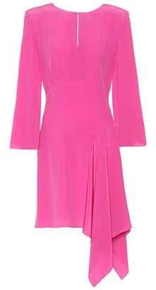 Fendi Asymmetric silk dress