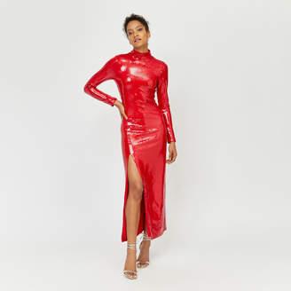 Warehouse Ashish Sequin Maxi Dress