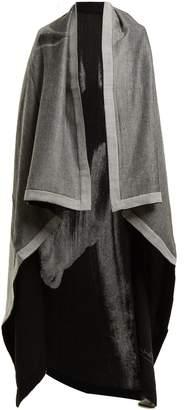 MARY MCCARTNEY Horse-print wool and silk-blend blanket scarf