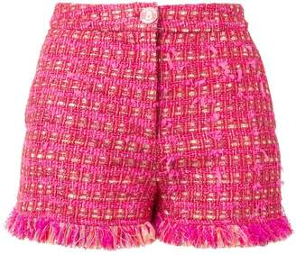 Moschino tweed shorts