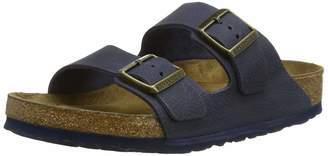 Birkenstock Women's Arizona 2-Strap Cork Footbed Sandal Brown 39 M EU