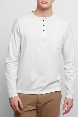Surfside Supply Long Sleeve Pocket Henley